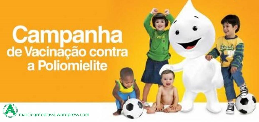 Resultado de imagem para Campanha de Vacinação contra a Poliomielite e o Sarampo começa amanhã