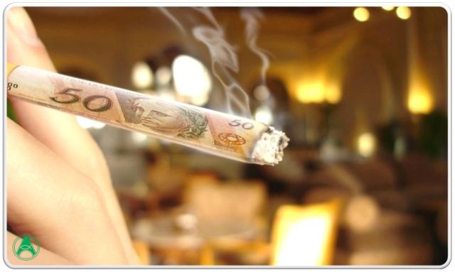 fumar-dinheiro