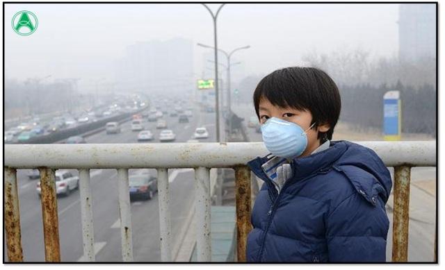 poluição criançca