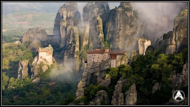 montanha grécia
