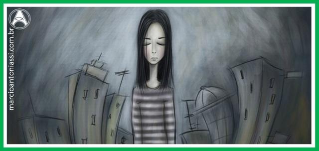 solidão depressão