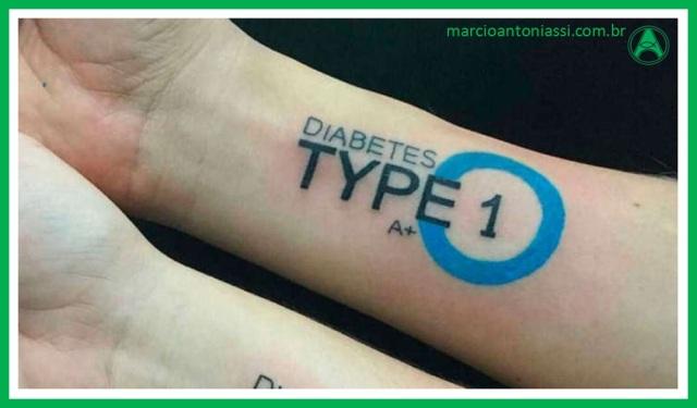 diabetes tatuagem