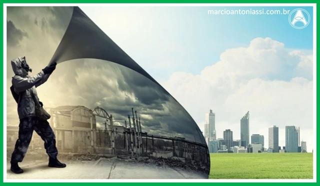 poluição mundo